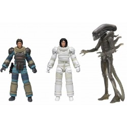 Pack Figuras Alien Ultimate 40 Aniversario Series 4 NECA