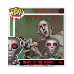 Figura Queen News Of The World POP Funko Albums