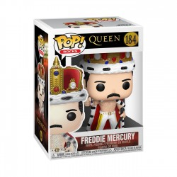Figura Freddie Mercury King  POP Funko Rocks