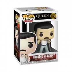 Figura Freddie Mercury Queen Radio Gaga  POP Funko Rocks