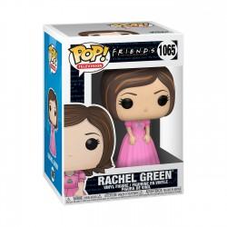 Figura Rachel Green Vestido Rosa Friends POP TV Funko
