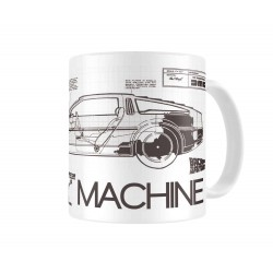 Taza Regreso Al Futuro DeLorean Time Machine