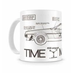 Taza Regreso Al Futuro DeLorean Time Machine