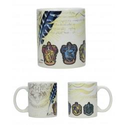 Taza Harry Potter Casas Hogwarts