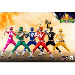Pack 6 Figuras Mighty Morphin Power Rangers Escala 1/6 Threezero