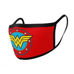 Mascarilla de Tela Wonder Woman (Pack 2 unidades)