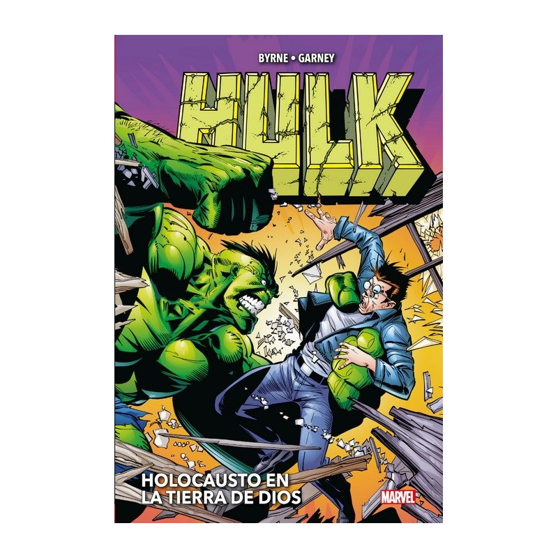 Hulk de John Byrne y Ron Garney   (Marvel Omnibus)