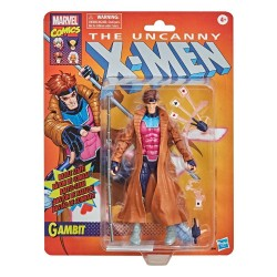 Figura Gambito Marvel Legends X-Men Retro Collection
