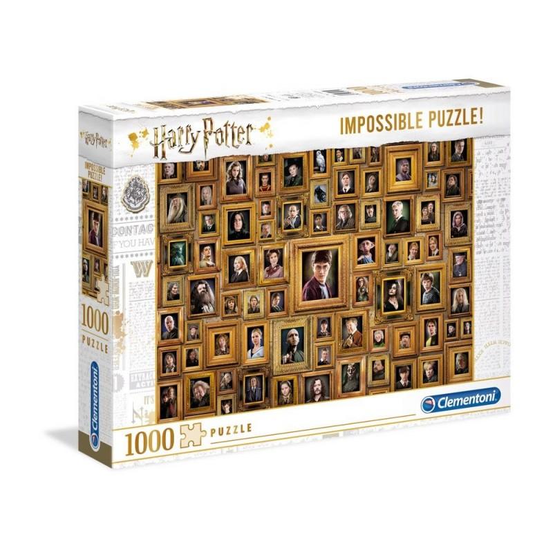 Puzzle Harry Potter Impossible Portraits 1000 piezas