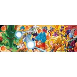 Puzzle Dragon Ball Super Panorámico Personajes 1000 piezas