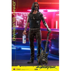 Figura Johnny Silverhand Cyberpunk 2077 Hot Toys