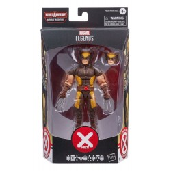 Imagén: Figura Lobezno Wolverine X Men Marvel Legends Tri-Sentinel Build A Figure