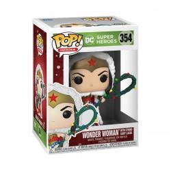 Wonder Woman Navidad POP Funko 354