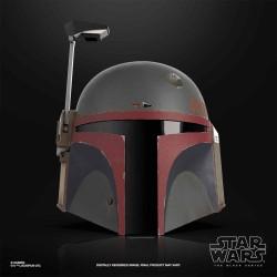 Casco Boba Fett Star Wars Réplica 1:1 Electrónico Black Series Hasbro Nuevo Diseño The Mandalorian