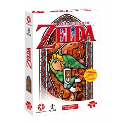 Puzzle The Legend Of Zelda Link Adventurer 360 piezas + Póster