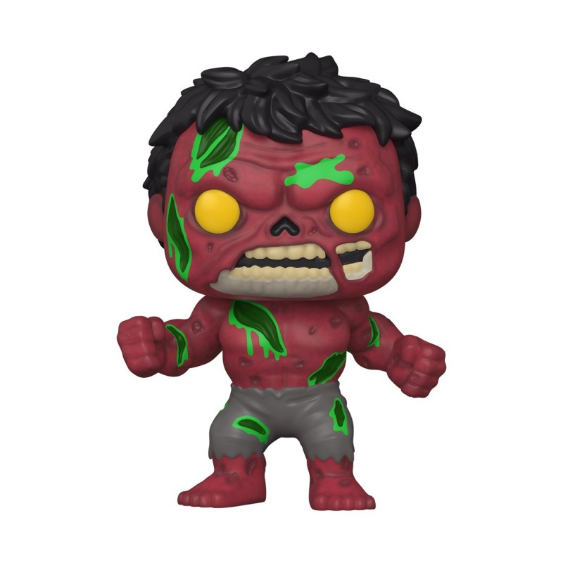 Figura Red Hulk Funko POP Marvel Zombies