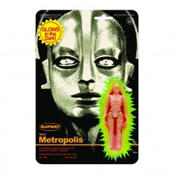 Figura Maria Metropolis Brilla En La Oscuridad ReAction Super7