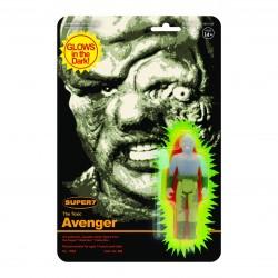 Figura Toxie Toxic Avenger El Vengador Tóxico Brilla En La Oscuridad ReAction Super7