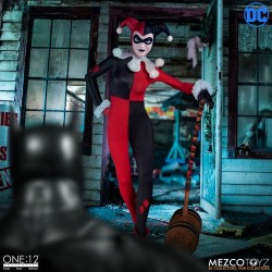 Figura Harley Quinn Deluxe Mezco The One 12: Collective 16 cmts.