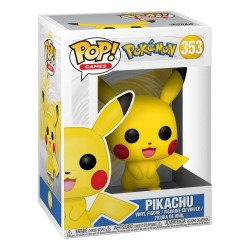 Figura Pikachu Games Vinyl Pokemon Funko Pop