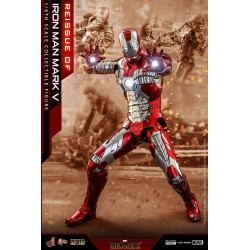 Figura Iron Man 2 Mark V Hot Toys