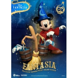 Estatua Mickey Mouse Classic Deluxe Fantasia Beast Kingdom Disney