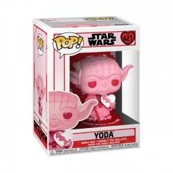 Figura Yoda San Valentín Star Wars Funko Pop
