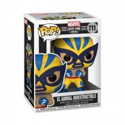 Figura Lobezno Wolverine Lucha Libre Funko Pop Marvel