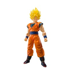 Figura Son Goku Super Saiyan Full Power Dragon Ball Z  SH Figuarts Bandai