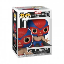 Figura Spiderman Lucha Libre Funko Pop Marvel