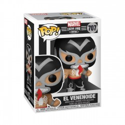 Figura Venom Lucha Libre Funko Pop Marvel