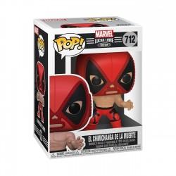 Imagén: Figura Deadpool Lucha Libre Marvel POP Funko 712