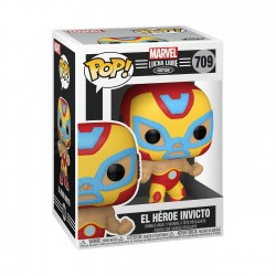 Figura Iron Man Lucha Libre Funko Pop Marvel