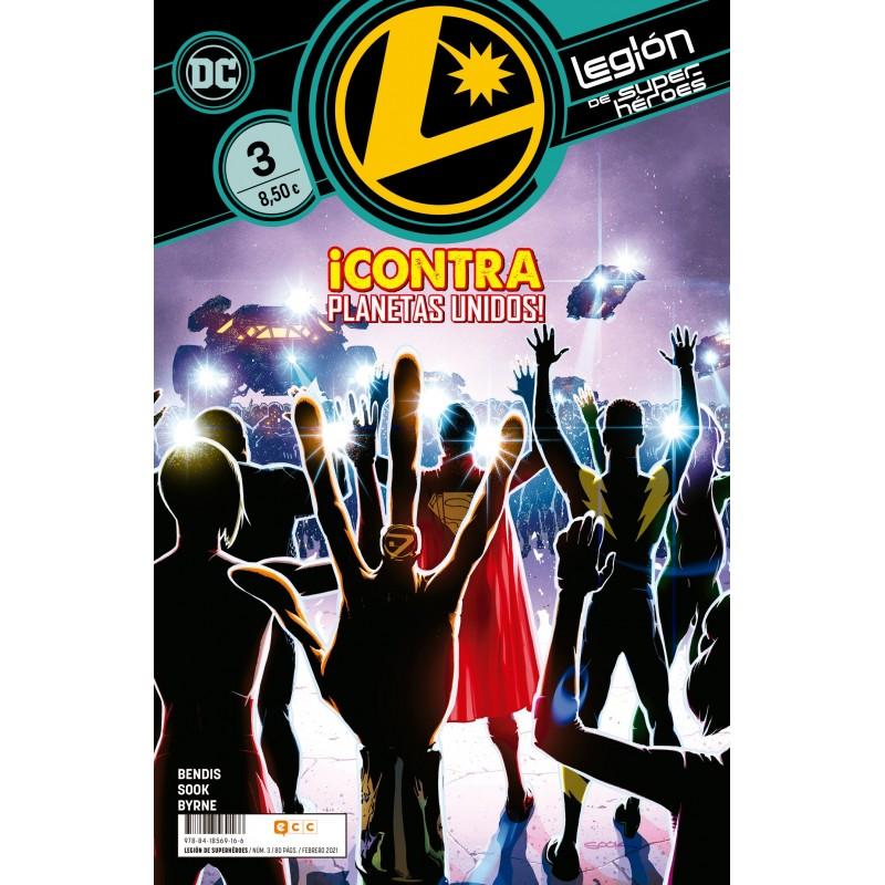 Legión de Superhéroes 3