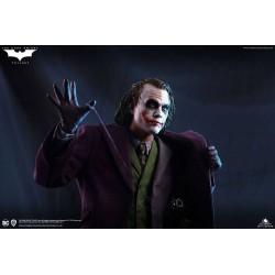 The Dark Knight Estatua 1/4 Heath Ledger Joker Regular Edition Queen Studios