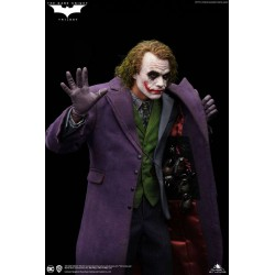The Dark Knight Estatua 1/4 Heath Ledger Joker Artists Edition Queen Studios