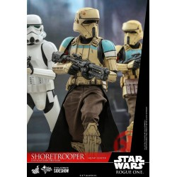 Figura Shoretrooper Squad Leader Star Wars Rogue One Hot Toys