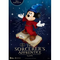Estatua Mickey Mouse El Aprendiz De Brujo Fantasía Master Craft Beast Kingdom Disney