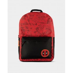 Mochila Deadpool Marvel Masacre Grafitti