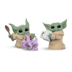 Set 2 Figuras The Child Baby Yoda Grogu Pulpo + Jarra Star Wars The Bounty Collection