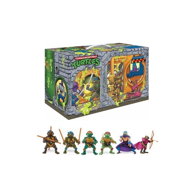 Playset Sewer Lair Guarida Alcantarilla Tortugas Ninja TMNT PLaymates