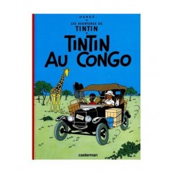 Tintin Au Congo. En francés