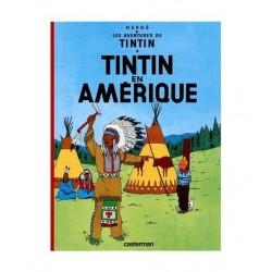 Tintin En Amérique. En francés