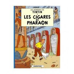 Tintin Les Cigares Du Pharaon. En francés