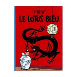 Tintin Le Lotus Bleu. En francés