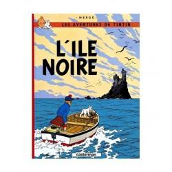 Tintin L´Ile Noire. En francés