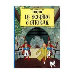 Tintin Le Sceptre D´Ottokar. En Francés.