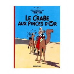 Tintin Le Crabe Aux Pinces D´Or. En Francés.