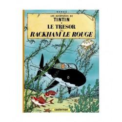 Tintin Le Tresor De Rackham Le Rouge. En Francés.
