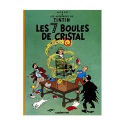 Tintin Les 7 Boules De Cristal. En Francés.